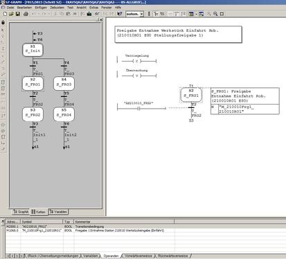 Siemens Step7 Graph Schrittketten Programmierung