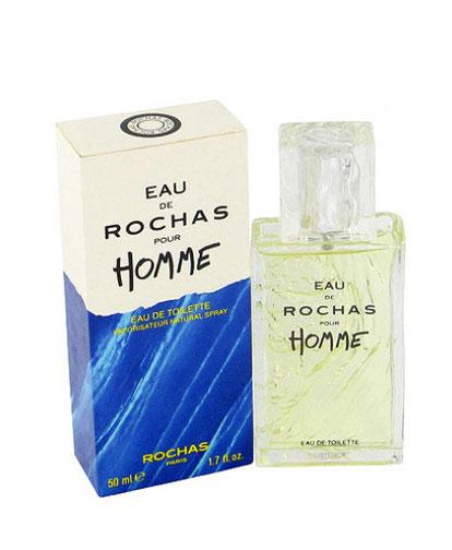 ROCHAS - EAU DE ROCHAS HOMME : VAPORISATEUR EAU DE TOILETTE 50 ML