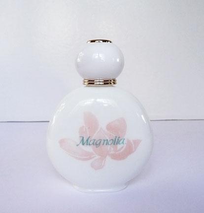 MAGNOLIA - FLACON EN VERRE BLANC OPAQUE - 50 ML