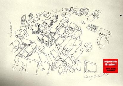 Mappenkurs Düsseldorf, Mappenvorbereitungskurs, NRW, Architektur, Architekturzeichnen, Architekturstudium, Köln