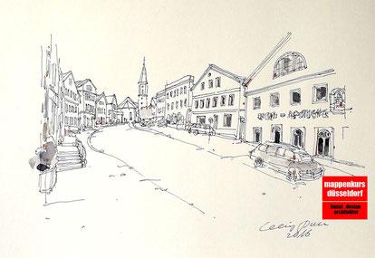 Mappenkurs Düsseldorf NRW, Architektur- & Innenarchitekturstudium