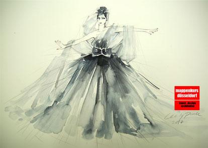 Mappekurs Modedesign, Modedesignstudium Stuttgart