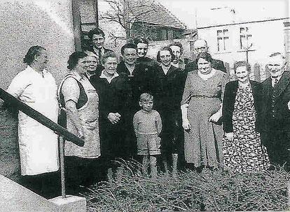 Ettas Konfirmation 1956 - Quelle Nancy Barchfeld