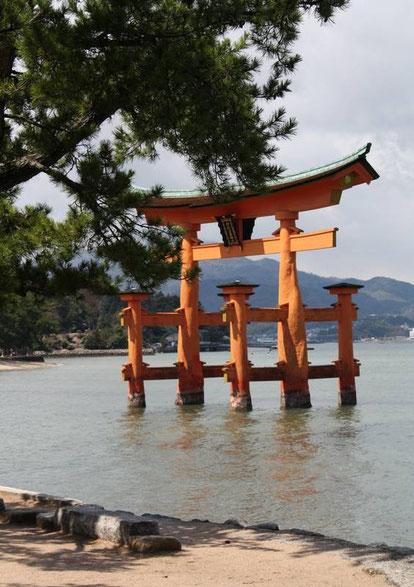 O-torii d'Itsukushima (Miyajima)