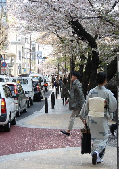 En approche de la Shijo-Dōri
