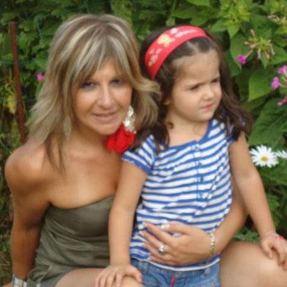 Belén y mi sobrina nieta. F. P. Privada.