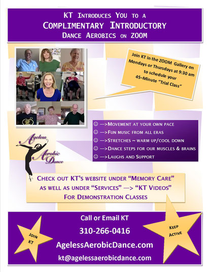 KT's Zoom Flyer Invitation to Directors of Centers
