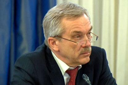 Gouverneur der Region Belgorod: Evgeny Stepanovich Savchenko