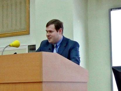 Dr. Pawlow Michail (auß. Prof. Univ. Moskau)