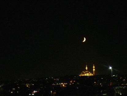月がよく似合う国です