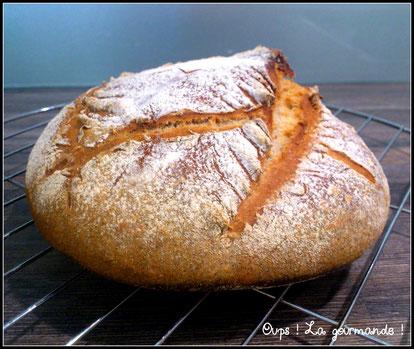 Deuxième pain au levain : La boule.