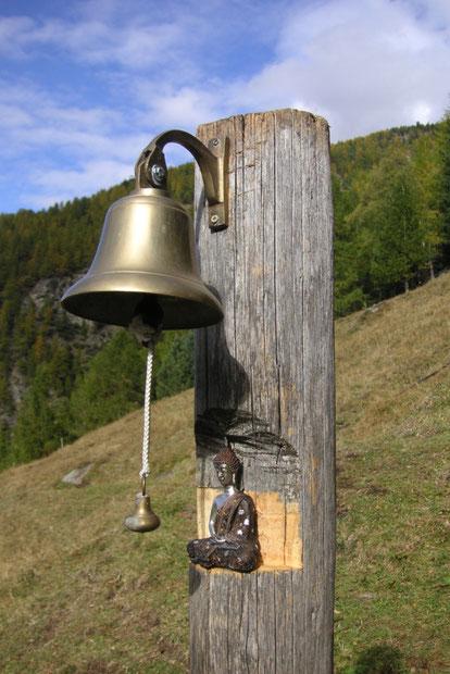 Ermitaño en los Alpes Suizos