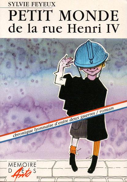 Page titre du roman de Sylvie Feyeux, fort justement signalé par Jean-Marc Grange, où l'on retrouve la figure de Madame Bizolon .