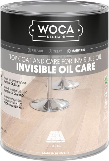 WOCA INVISIBLE OIL CARE - WOCA INVISIBLE ÖLPFLEGE 1L (2021)