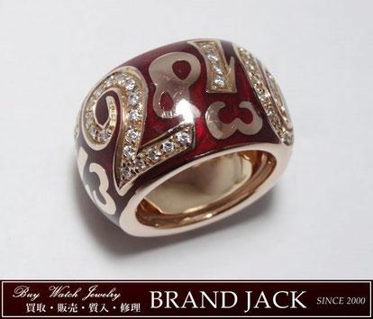 仙台|フランクミュラー タリスマンリング K18PG ダイヤモンド 指輪を高額買取