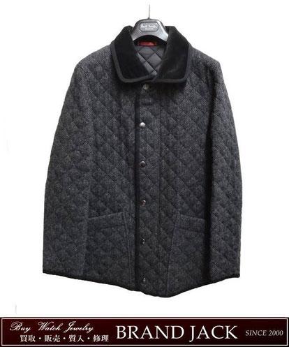 仙台|ポールスミス ウールキルティング ジャケット コートを高額買取