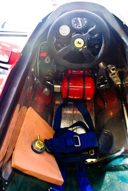 "Ferrari 126 C2 ""1982"" G. Villeneuve - by Alidarnic (Modena Trackdays 2011)"