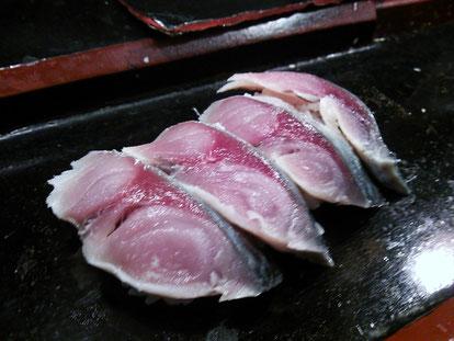 真鯖寿司マイウー!TOYOOさんゴチです^^