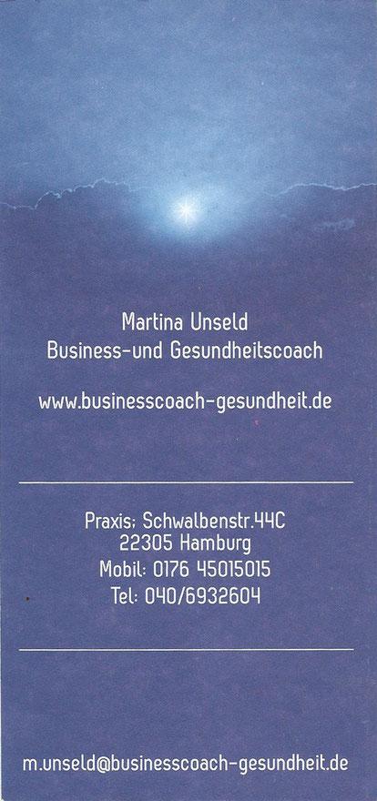 Reconnective Healing Flyer Dr. Eric Pearl Rückseite - Martina Unseld