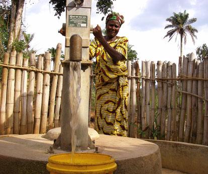 Brunnen für eine sicherere und zuverlässigere Trinkwasserversorgung
