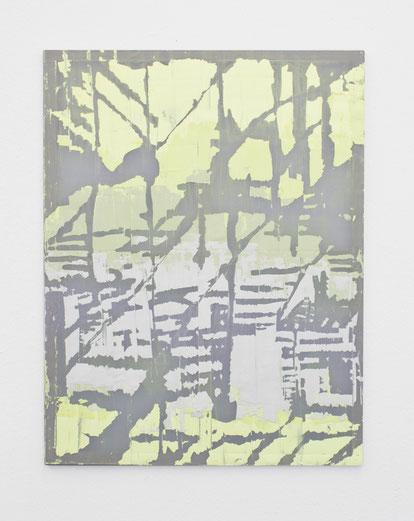 O.T. / 2020 / Gips / Vinyl / Lack / Polyester / 130 x 100 cm