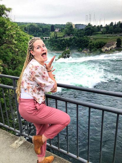 Hochwasser auch am Rheinfall?!