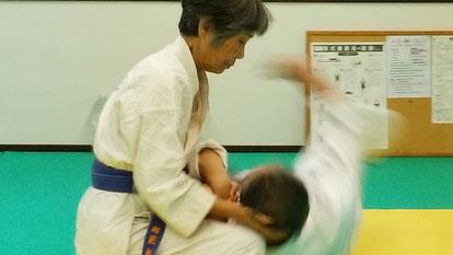 初段技 千葉県鎌ケ谷市の八光流柔術「皇法指圧」健心会道場です。
