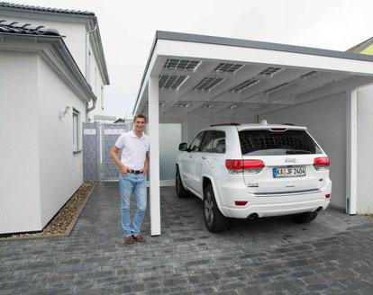 Bauherr Solarterrasse & Solarcarport