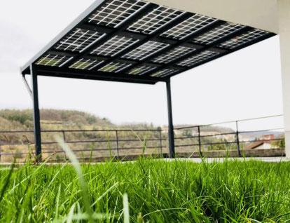 Solarterrasse bei Würzburg