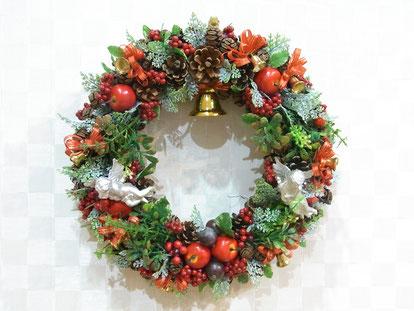 クリスマスリース、エンゼル、画像