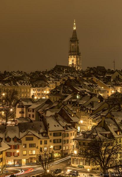 Altstadtsicht mit dem Münster im Hintergrund