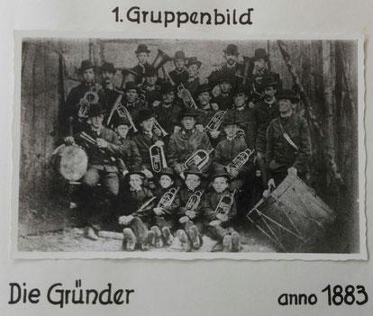 Gründungsbild 1883 TMK Pöndorf