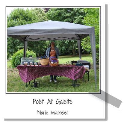 Poèt'Al'Galette - Gaufres aux légumes et pâtisseries salées - Wéris