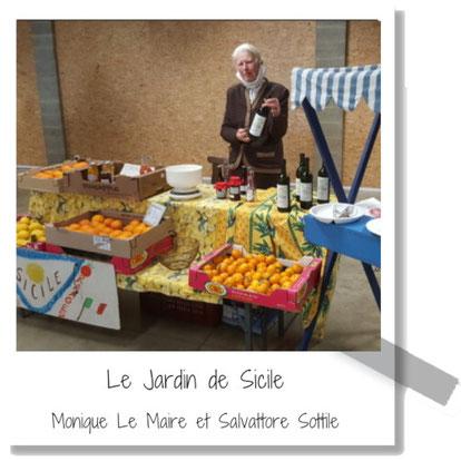 Le Jardin de Sicile - Produits siciliens - Monique Le Maire et Salvattore Sottile