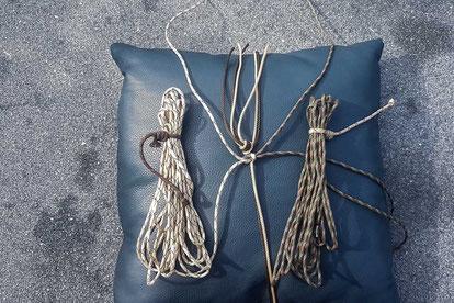 Hilfsmittel für Paracod - Knoten knüpfen