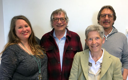Amy D. Wells, Jean-Pierre Winter, Marie-Jo Bonnet et Alain Protais