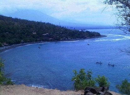 Amed. Karangasem regency in Bali.