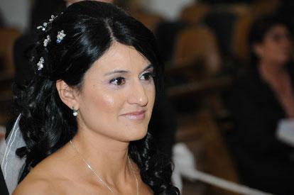 Horquillas novia cristales y strass, plateadas
