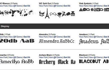 шрифты для дизайнера