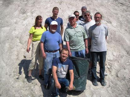 Bergreinigungstrupp, Team SCMK u. Wanderfreunde