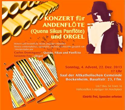 Orgel trifft Panflöte