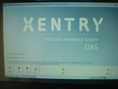 XENTRY,DAS,WIS,EPS  ライセンス付与