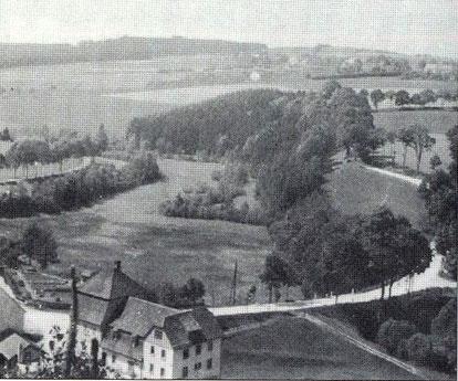 Bild: Wünschendorf Erzgebirge Damm-Mühle Wünschendorf 1940