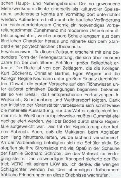Bild: Teichler Wünschendorf Erzgebirge Wagler Schule