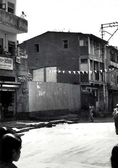 1976 : Site of the Kasba Peth Toddy Shop in Poona - Courtesy of John Connor