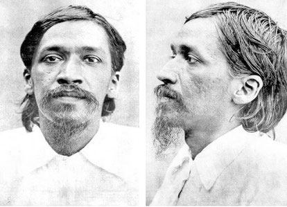 Aurobindo's jail picture ( mug-shot )
