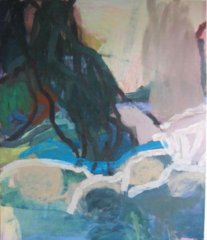 Baum 2010 135 x 115 cm Öl / Leinwand