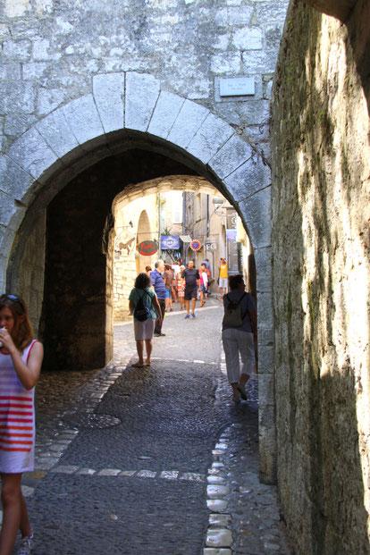 Bild: St.-Paul de Vence Eingangstor zum Dorf
