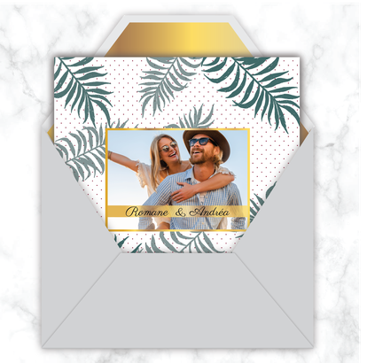 faire-part-mariage-gif-animé-faire-part-mariage-virtuel-faire-part-mariage-digital-faire-part-mariage-numérique-animé-électronique-à-envoyer-via-les-réseaux-sociaux-whatsapp-facebook-messenger-mms-feuille-de-palmier-tropical-palme-doré-carré-jungle