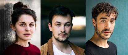 Schauspieler Lorena Handschin, Sebastian Kempf, Giovanni Funiati